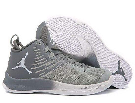 Air Jordan Super Fly V Grey Ireland